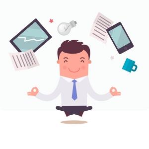 Stressbewältigung im Büro