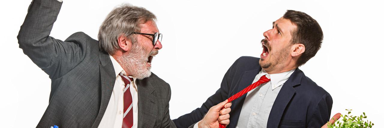 Streit? - Konfliktmanagement am Arbeitsplatz